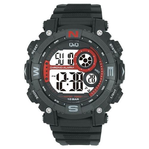שעון דיגיטלי עם סטופר ושעון מעורר לגבר מבית Q&Q