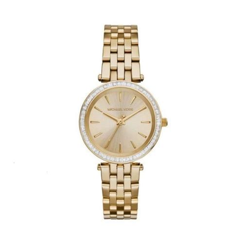 שעון יד אנלוגי איכותי מוזהב לאישה בית Michael Kors