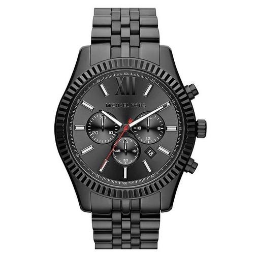 שעון יד אנלוגי שחור יוקרתי לגבר מבית Michael Kors