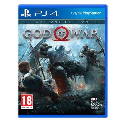 הלהיט המטורף GOD OF WAR לקונסולות Playstation 4