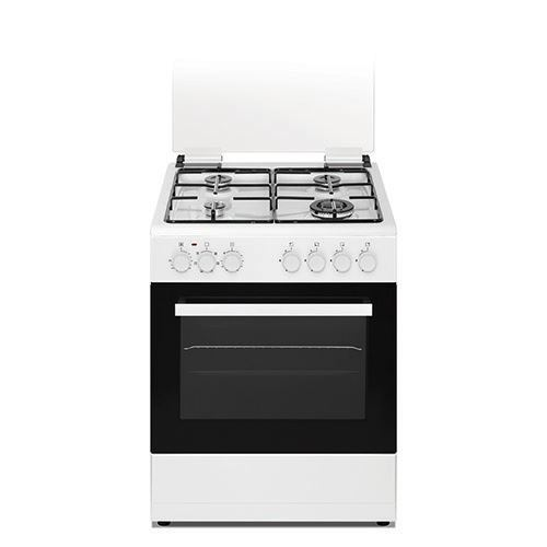 תנור אפיה משולב כיריים גז 6 תכניות Normande עודפים