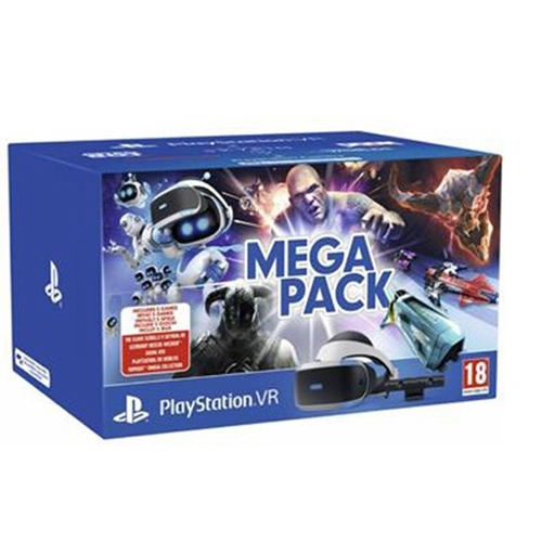 ערכת מציאות מדומה PlayStation4 VR MEGA PACK