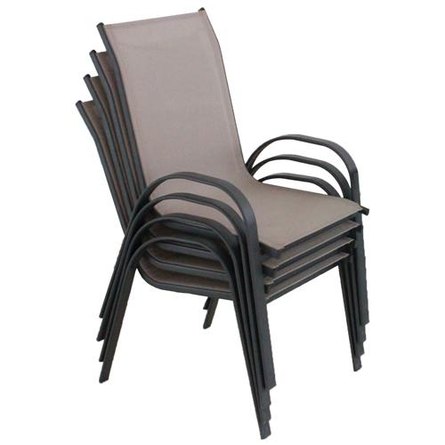 סט ארבע כיסאות בד-רשת איכותיים ונוחים לישיבה