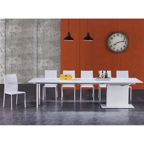 שולחן לפינת אוכל מודולרי נפתח ל- 3 מטרים Bradex