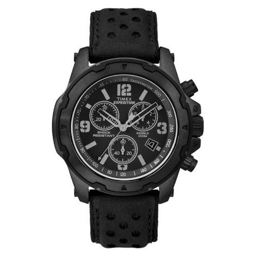 שעון יד כרונוגרף לגבר כולל בולם זעזועים מבית TIMEX