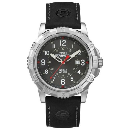 שעון יד אנלוגי לגבר מעוצב עם תאריכון מבית TIMEX