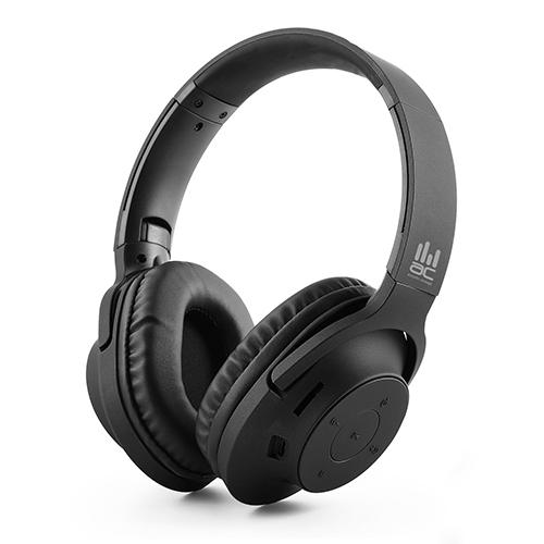אוזניות אלחוטיות Over-Ear עם נגן MP3 מובנה