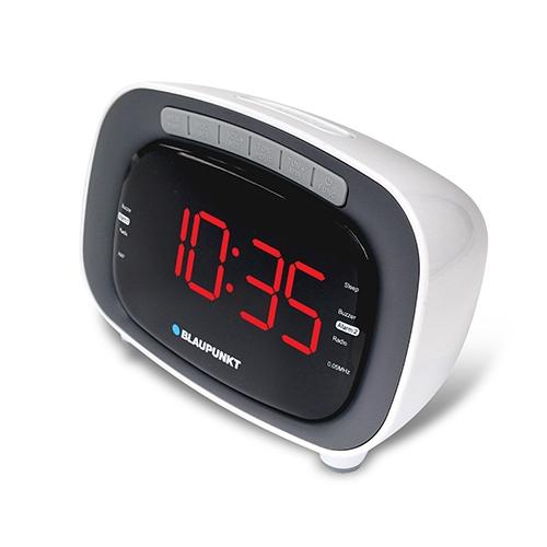 """רדיו שעון מעורר צג 1.2"""" בעיצוב שימושי BLAUPUNKT"""