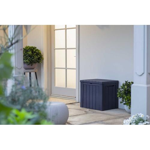 ארגז אחסון במראה עץ אלגנטי משתלב בכל חלל KETER
