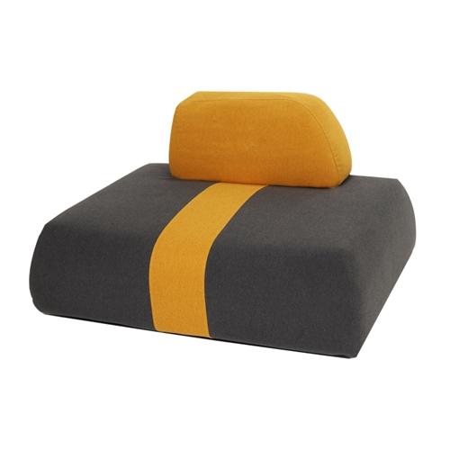 כורסת ישיבה מעוצבת בסגנון מודרני וייחודי ביתילי