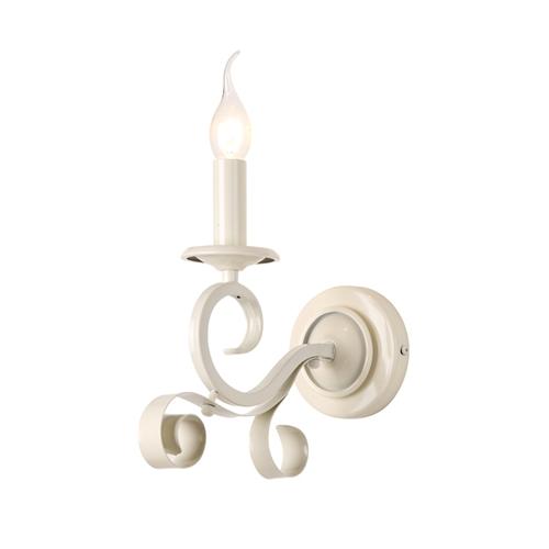 מנורת קיר מעוצבת בגוון שמנת מתאימה לכל חלל ביתילי