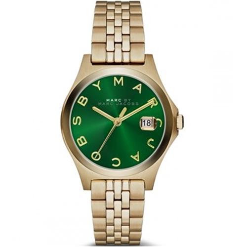 שעון יד אנלוגי בעיצוב יוקרתי לאישה MARC JACOBS