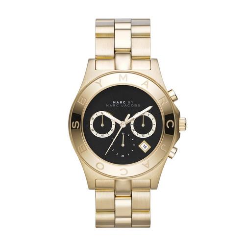 שעון יד אנלוגי במראה יוקרתי לאישה מבית MARC JACOBS