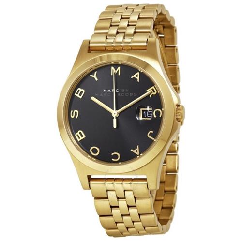 שעון יד אנלוגי בעיצוב יוקרתי לאישה מבית MARC JACOB