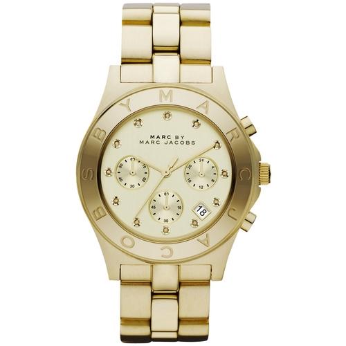 שעון יד אנלוגי יוקרתי מעוצב אלגנט לאישה MARC JACOB