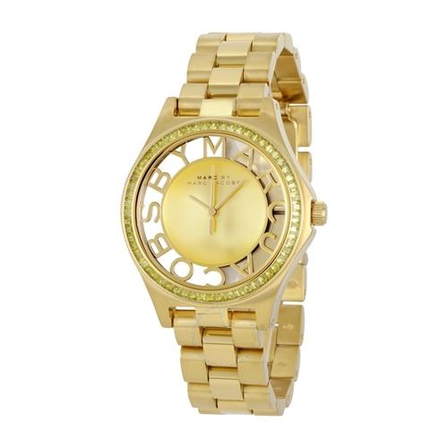 שעון יד אנלוגי אופנתי ויוקרתי לאישה MARC JACOBS