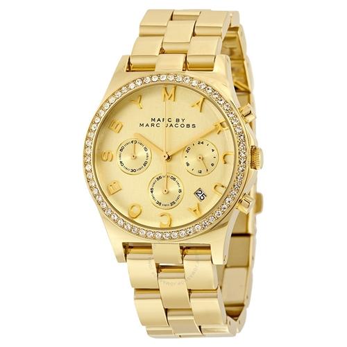 שעון יד אנלוגי יוקרתי וייחודי לאישה MARC JACOBS
