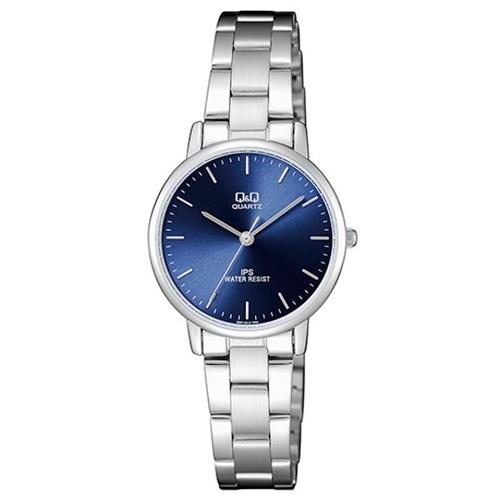 שעון יד אנלוגי יוקרתי מעוצב לאישה מבית Q&Q