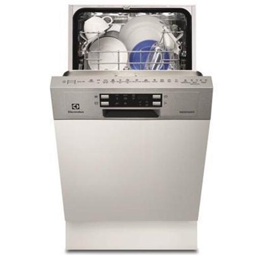 """מדיח כלים צר חצי אינטגרלי 45 ס""""מ ESI4501LOX נרוסטה"""