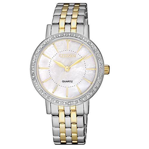 שעון יד אנלוגי אלגנט במראה יוקרתי לאישה CITIZEN