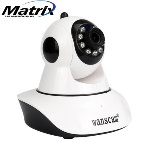 מצלמת אבטחה IP אלחוטית WANSCAM P2P HD