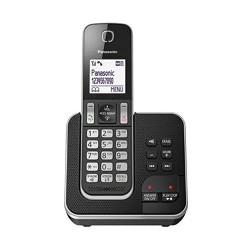 """טלפון אלחוטי עם משיבון בעברית וצג מואר 1.8"""""""