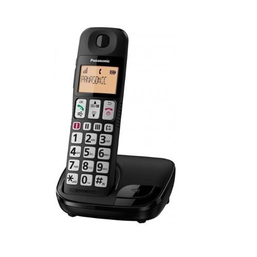 """טלפון אלחוטי עם צג 1.8"""" מקשים גדולים ושמע מוגבר"""