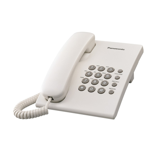 טלפון שולחני נוח לשימוש וניתן לתליה PANASONIC