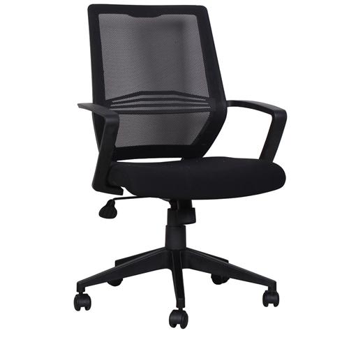 כיסא משרדי עם גב רשת וידיות מבית HOME DECOR