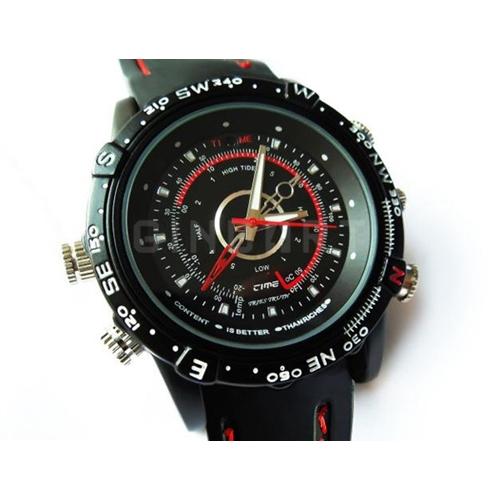 שעון יד ספורטיבי מוסלק במצלמת ריגול וידאו איכותית