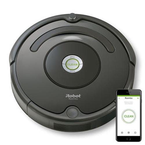 שואב אבק רובוטי אלחוטי רומבה iRobot 676