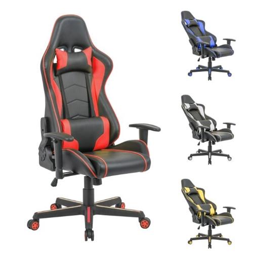 כיסא גיימרים ארגונומי יוקרתי לבבית או במשרד HOMAX