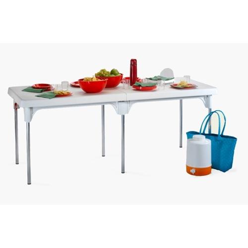 שולחן מתקפל איכותי וחזק דגם שיר מבית כתר פלסטיק.