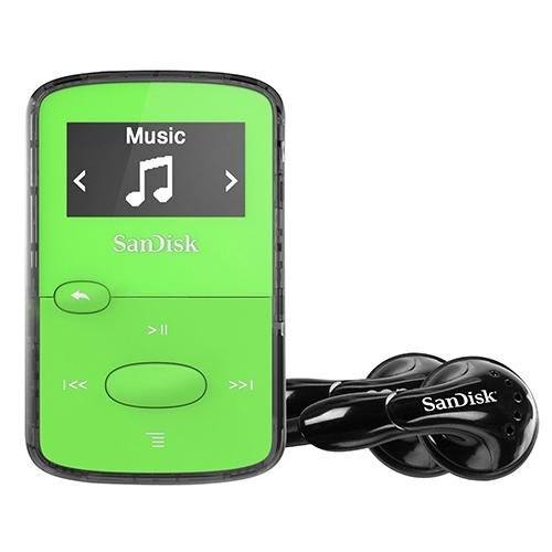 נגן MP3 SanDisk Clip Jam בנפח 8GB ירוק
