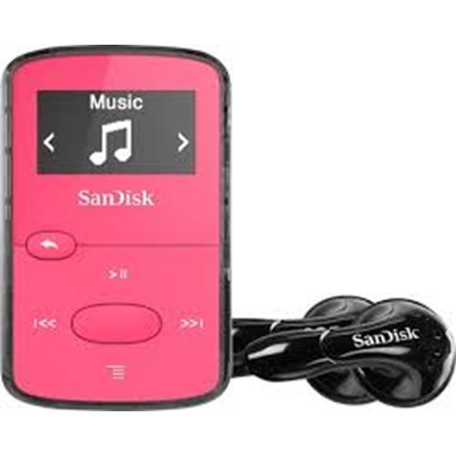 נגן MP3 SanDisk Clip Jam בנפח 8GB וורוד