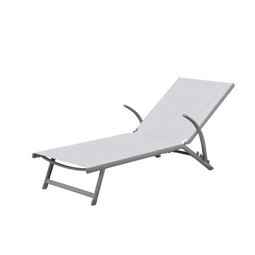 מיטת שיזוף מאלומיניום מתקפלת נוחה במיוחד