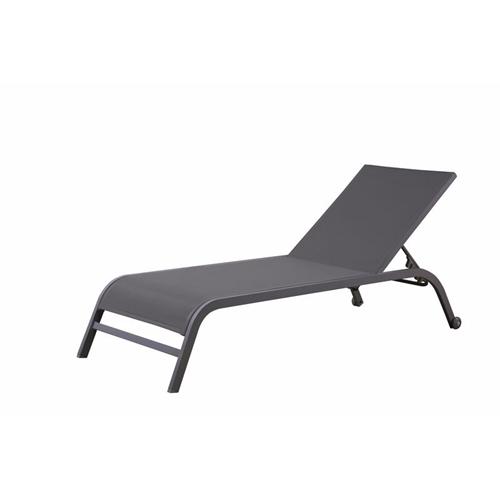 מיטת שיזוף מאלומיניום נוחה במיוחד H.KLEIN