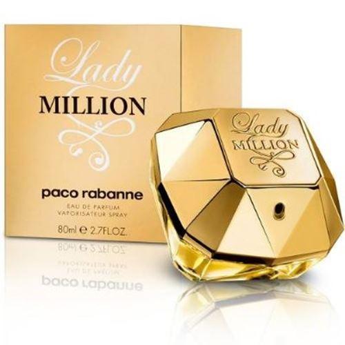 בושם לאשה Paco Rabanne Lady Million E.D.P 80ml
