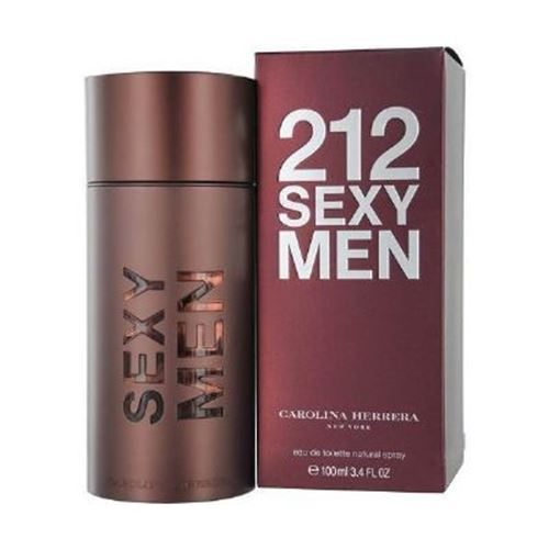 212 Sexy Men Carolina Herrera E.D.T. 100ml בושם לגבר