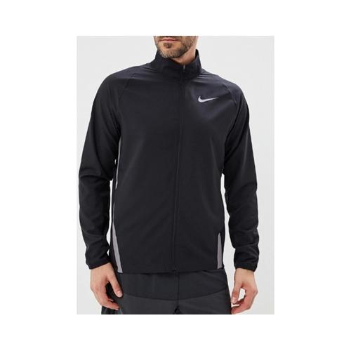 מעיל גשם שחור Nike לגברים סופג זיעה נוח וקליל