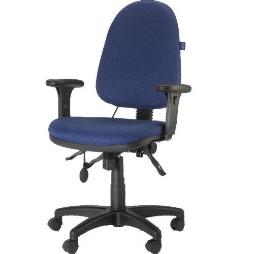 """כיסא מחשב אורטופדי בעל מושב אנטומי ד""""ר גב"""
