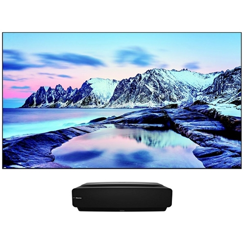 "LASER TV בגודל 80""  חכמה  דגם  H80LSAIL"