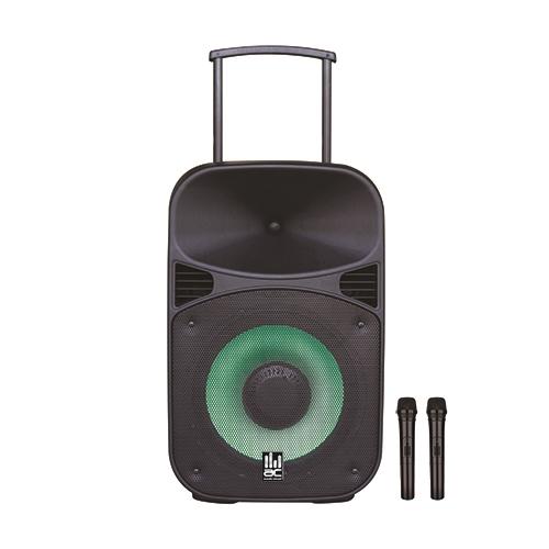 """בידורית קריוקי ניידת 12"""" אלחוטית ייחודית Bluetooth"""