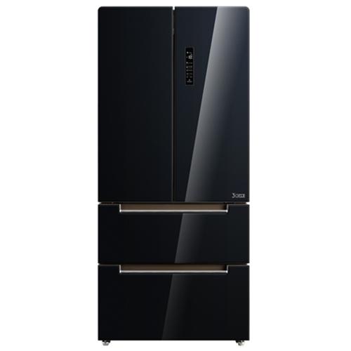 מקרר 4 דלתות שחור 537 ליטר MIDEA HQ-692WEN(GC