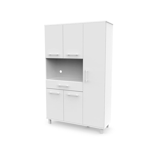 ארון מיקרוגל מהודר ייחודי ומעוצב עם מקום רב לאחסון