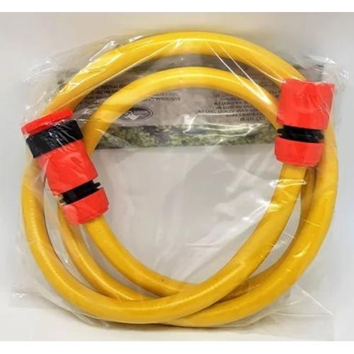 צינור 1.5 מטר לחיבור מהברז גן לגלגלת + חיבורים