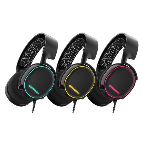 אוזניות גיימינג איכותיות  SteelSeries Arctis 5