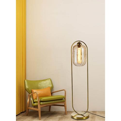 מנורת עמידה דגם שוהם אמבר -ביתילי