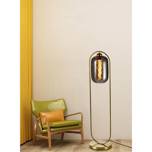 מנורת עמידה דגם שוהם סמוקי -ביתילי