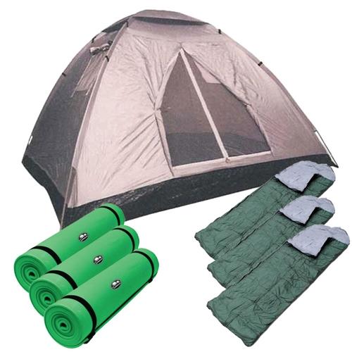 """סט מושלם לשטח אוהל איגלו 6 +מזרנים+שק""""שים+מתנה"""